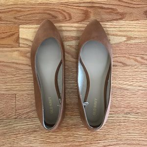Shoes - NWOT Old Navy suede flats